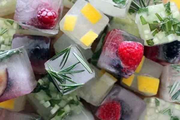 fűszeres jégkocka